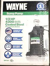 Sump Pump Wayne Thermoplastic 1/2 HP 4300 Gal per Hour