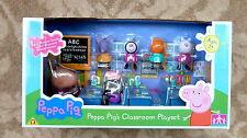 PEPPA PIG SCUOLA PLAYSET-Madame Gazelle Aula - 7 cifre-NUOVISSIMO