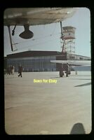 USAF Aircraft at Air Base in Europe in late 1940's, Ansco Color Slide aa 9-9b