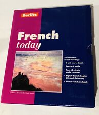 French Today Language Learning Course by BERLITZ on Cassette
