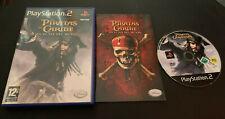 Piratas del Caribe en el Fin del Mundo PS2 Play Station 2 Pal ESPAÑOL