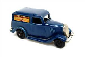MINIC TOYS Tri-Ang Minic Transport Express Service Van Diecast Wind-Up Vehicle