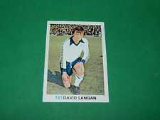 121 D. LANGAN DERBY COUNTY FKS SOCCER STARS 1977-78 ENGLAND AGEDUCATIFS PANINI