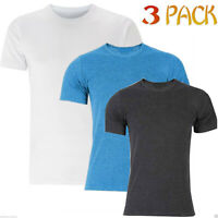 Pack Of 3 Mens Basic Thermal Vest Underwear Warm Super Soft Brushed Thermals Top