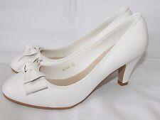 Zapatos De Novia Efecto Cuero MT Pequeño Tacón sencillo y elegante - m098