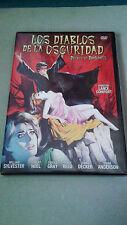 """DVD """"LOS DIABLOS DE LA OSCURIDAD"""" COMO NUEVA LANCE COMFORT DEVILS OF DARKNESS"""