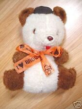 RARE 1960'S STEVEN SMITH BROWNIE SCOUTS STUFFED BEAR