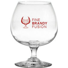 72 Custom Brandy Siffer Glasses, Bulk Promotional Products, Wedding Party Favors