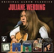 Juliane Werding-ORIGINAL ALBUM CLASSICS 5 CD NUOVO