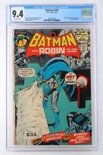 Batman #240 -NEAR MINT- CGC 9.4 NM - DC 1972 - Ra's Al Ghul & Talia App!