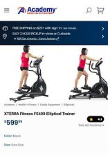 Elliptical exercise machine used