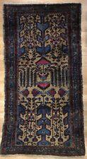 Handsome Hamadan - 1920s Antique Camel Hair Rug - Persian Carpet - 3.4 x 6.1 ft.