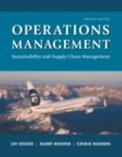 Operations Management: Sustainability and Supply Chain Management 12th Int'l Ed