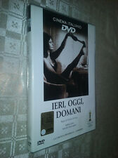 cofanetto+DVD Nuovo film- Ieri Oggi E Domani  Sophia Loren Marcello Mastroianni
