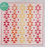 SALE - Sunshine - pieced quilt PATTERN - Sandra Clemons