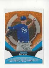 2011 Bowman Chrome Futures Fusion-Fractors 99 #22 Mike Montgomery Royals /99