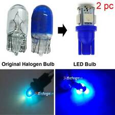 2PC Aqua Blue 5-LED Car License Bulb Plate Tag Light T10 158 168 194 w5W Mc-GB