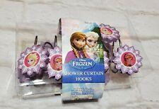 Disney Frozen Set of 12 Shower Curtain Hooks Elsa Anna