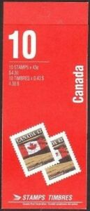Canada 1359a booklet of 10,MNH. Prairie.