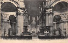 LONDON UK~ST PAUL'S CATHEDRAL-INTERIOR-LOOKING EAST~ LL/LEVY #156 PHOTO POSTCARD
