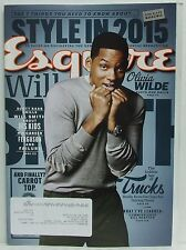 Will Smith Esquire Magazine Olivia Wilde Style in 2015 Carrot Top VERY RARE