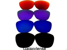 Galaxy Replacement Lenses For Oakley Frogskins Black&Blue&Purple&Red 4PAIRS