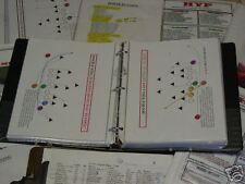 Youth Pee Wee Pop Werner Midget football play book coaching playbook 130+ plays