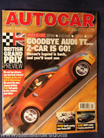 AUTOCAR Magazine 12nd July 2002 GB GP Preview