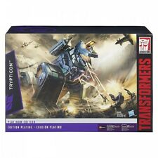 Transformers Platinum Edition G1 Trypticon reedición figura