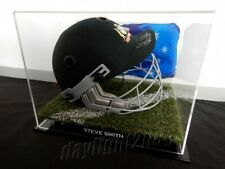 ✺Signed✺ STEVE SMITH Replica Cricket Helmet COA Australia 2020 Shirt