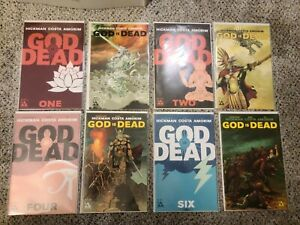 God Is Dead 1 2 3 4 5 6 7 8 9 10 11 1st Prints and variants 13 books Hickman