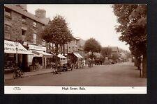 Bala - High Street - real photographic postcard