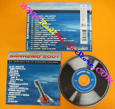 CD Compilation Sanremo 2001 BRITTI CONCATO VELVET MOBY RENGA no lp mc dvd (C14)