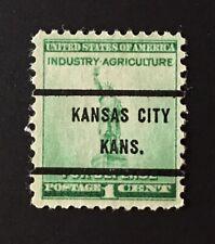 Kansas City, Kansas Precancel - 1 cent Defense (U.S. #899) KS
