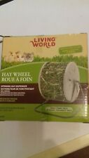 Living World Spinning Hay Dispenser Wheel. Rabbits, Guinea pigs etc. New