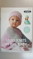 Patons Pattern Book #1105 Mod Knits in Big Baby 12 Super Cute Designs