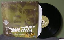"Gang Starr ""The Militia"" 12"" NM in shrink Orig DJ Premier Jeru the Damaja Guru"