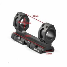 Metal 25mm-30mm Scope Ring Mount QD Auto Lock for Weaver/Picatinny 20mm Rail