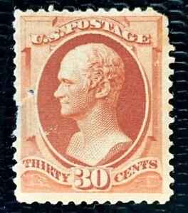 1888 US Stamps SC#217 30c Alexander Hamilton Mint