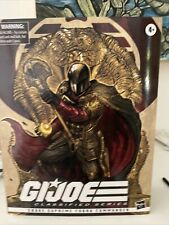 In Hand G.I. Joe Classified Series Snake Supreme Cobra Commander 6? Figure