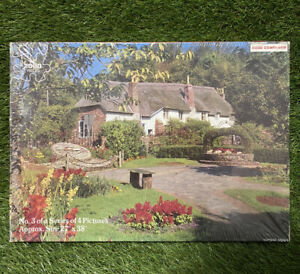 JIGSAW PUZZLE 'COTTAGE IN DEVON' 2000 PIECES BY GOOD COMPANION NEW AND SEALED