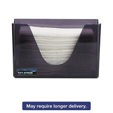 San Jamar Countertop Folded Towel Dispenser Plastic Black Pearl 11 x 4 3/8 x 7