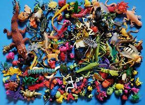 Lot Of 192 Toy Plastic Animal Figures