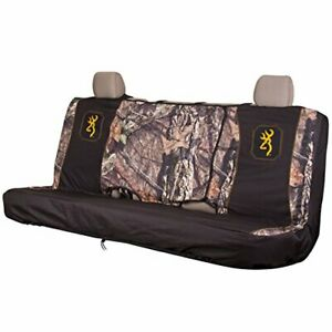 Browning Bench Seat Cover - Mossy Oak Country / Gold Full - Size