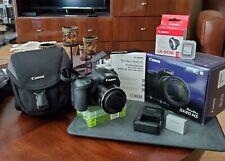 Canon PowerShot SX60 HS 16.1MP 65x Optical Zoom WIFI Camera -32GB SD & Case