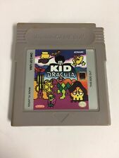 Kid Dracula for the Original Game Boy Tested Working