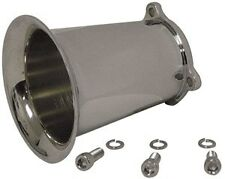 VELOCITY STACK, 4 inch, FOR Keihin CV CARBURETORS For Harley Davidson
