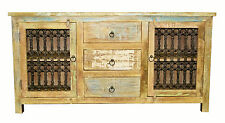 Recycled Timber Sideboard Buffet Entertainment Unit Retro Chic Metal Industrial