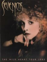 STEVIE NICKS 1983 THE WILD HEART CONCERT PROGRAM BOOK BOOKLET / NMT 2 MINT