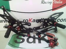 KIT PEDANE RACING ERGAL BLACK CBR 600 RR k7-k13 2007 2013
